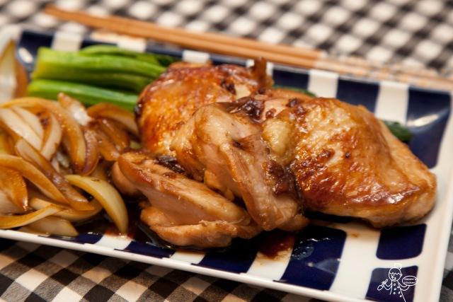 照燒雞肉  鶏もも肉の照り焼き