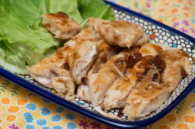 鶏肉の梅酢照り焼き 梅子照燒雞肉