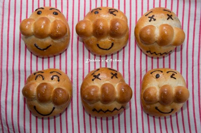 アンパンマン 麵包超人紅豆包