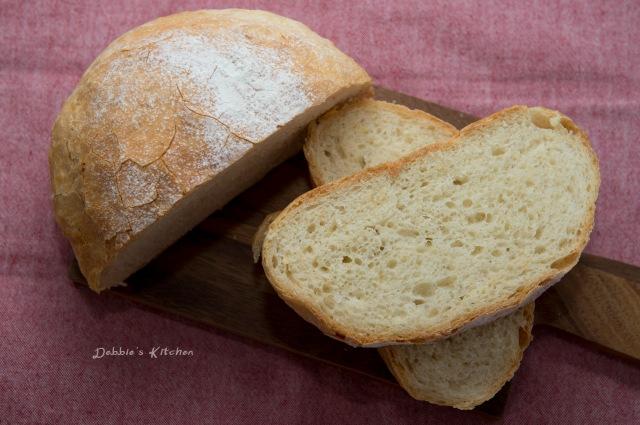 脆皮免揉麵包 No Knead Bread
