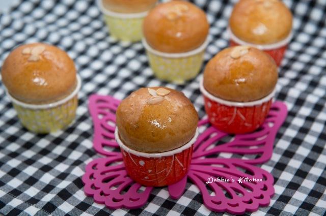 Apple Jam Bun  蘋果果醬麵包