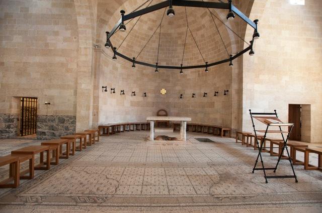 教堂雖然不大,但保存了很多原整的馬賽克畫