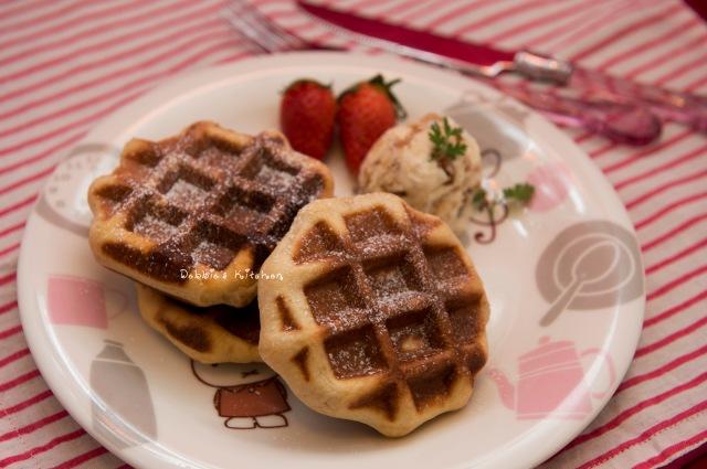 黑糖Liege Waffle
