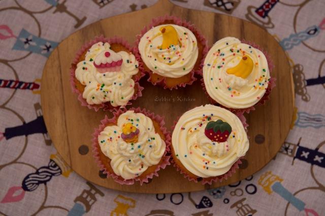 Rum Raisin Butter Cup Cake 冧酒提子杯子蛋糕
