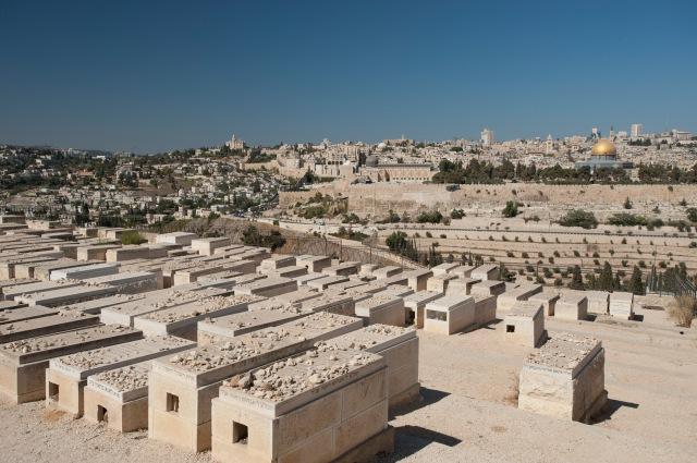 橄欖山下的猶太墓地
