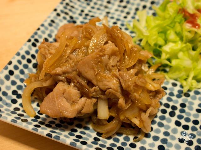 豚の生姜焼き  豬肉生薑燒