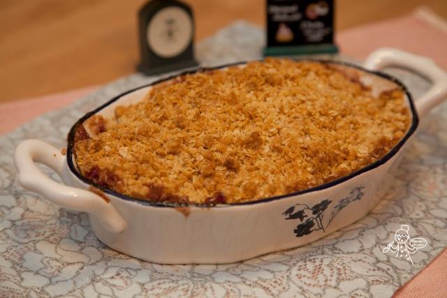 Oatmeal Apple Crisp 燕麥蘋果脆脆