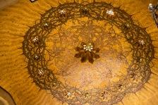 The Chapel of Flagellation [鞭笞教堂] 天花上的荆棘冠