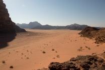 因為有泉水從石縫中或地下湧出來,偶爾會見到一些綠色植物,為死寂的沙漠帶來生氣