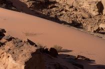 酒紅色的沙