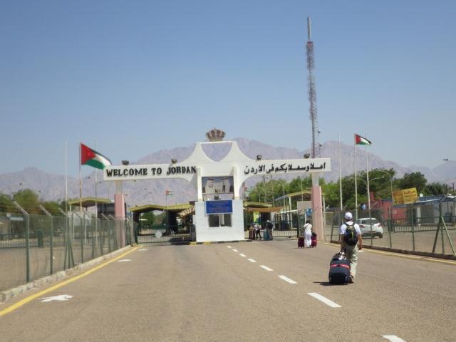 約旦和以色列邊界
