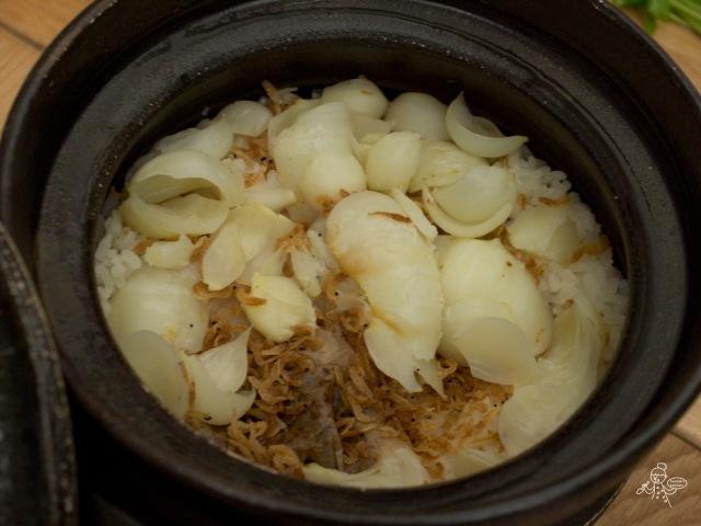 百合櫻花蝦土鍋飯 ゆりねご飯