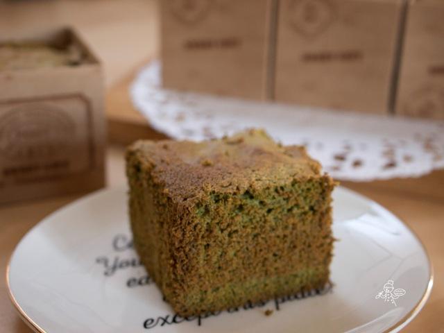 Green Tea Castella 抹茶蜂蜜蛋糕