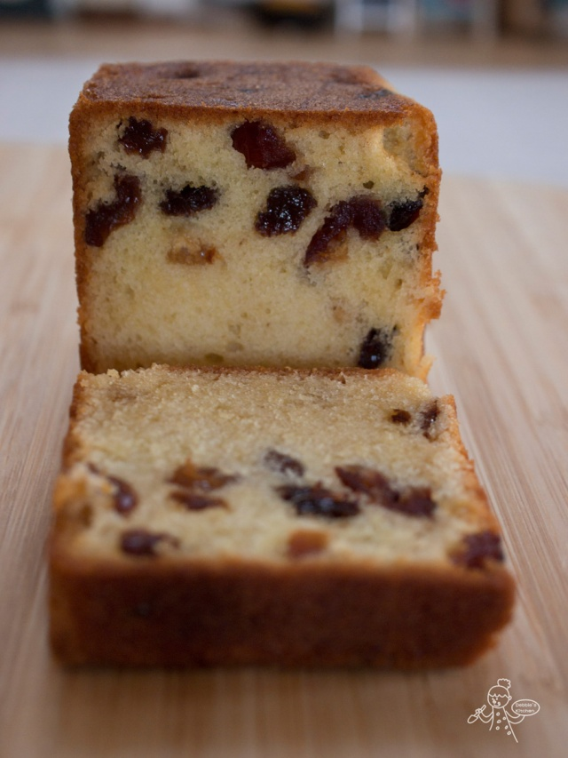 Mixed Fruit Pound Cake 乾果蛋糕