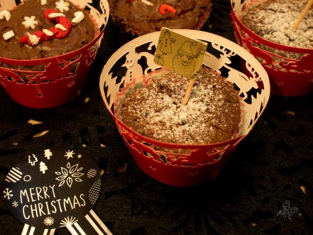 Gateau au Chocolat Cup Cake 濃厚黑朱古力杯子蛋糕