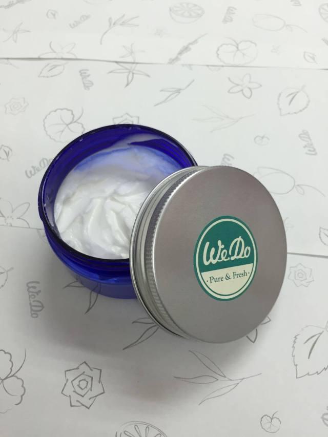 完成後的Hand cream