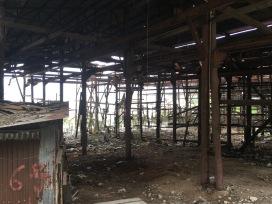 荒廢了的舊船廠