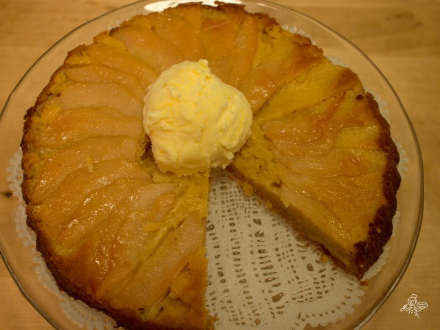 Pear and Ginger Pudding