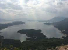 淡水湖全景
